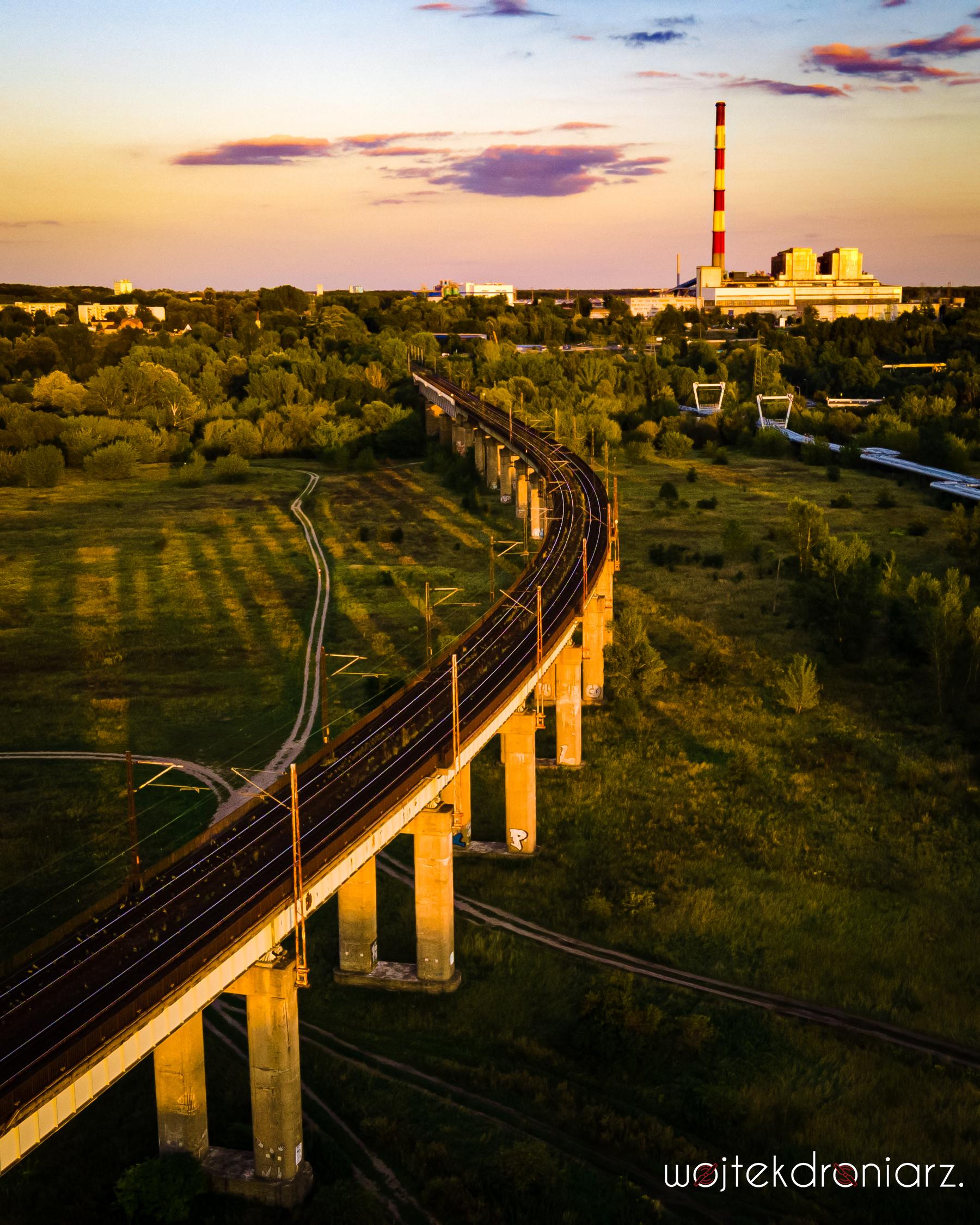Estakada kolejowa poznań